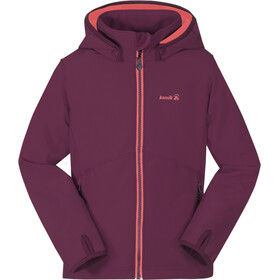 Kamik Faye Softshell Jacket Kids, plum
